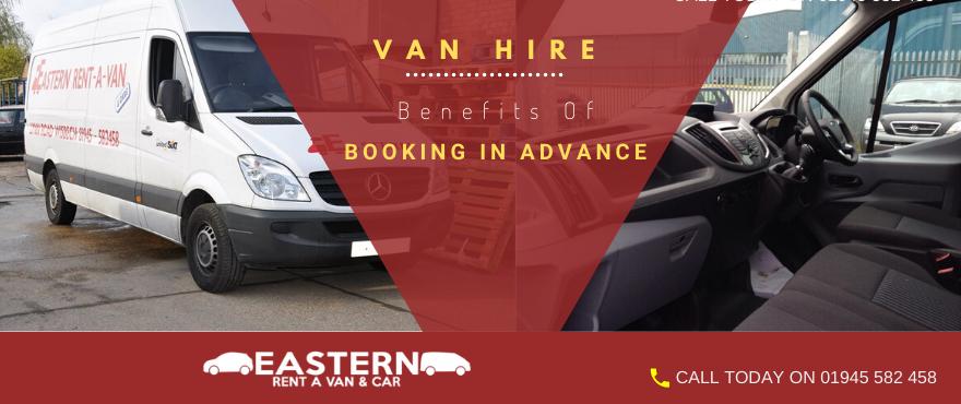 pre booking van hire
